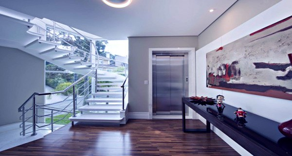 elevador em residências