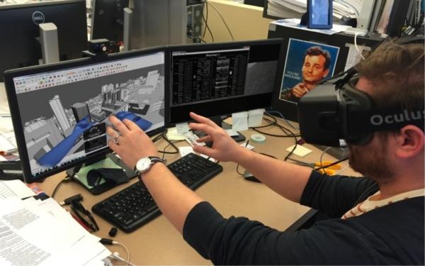 Designers de simulação virtual