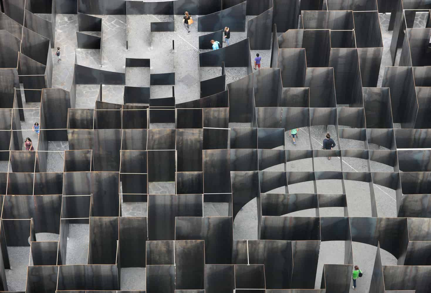 Labyrinth of Boolean Voids / Gijs Van Vaerenbergh