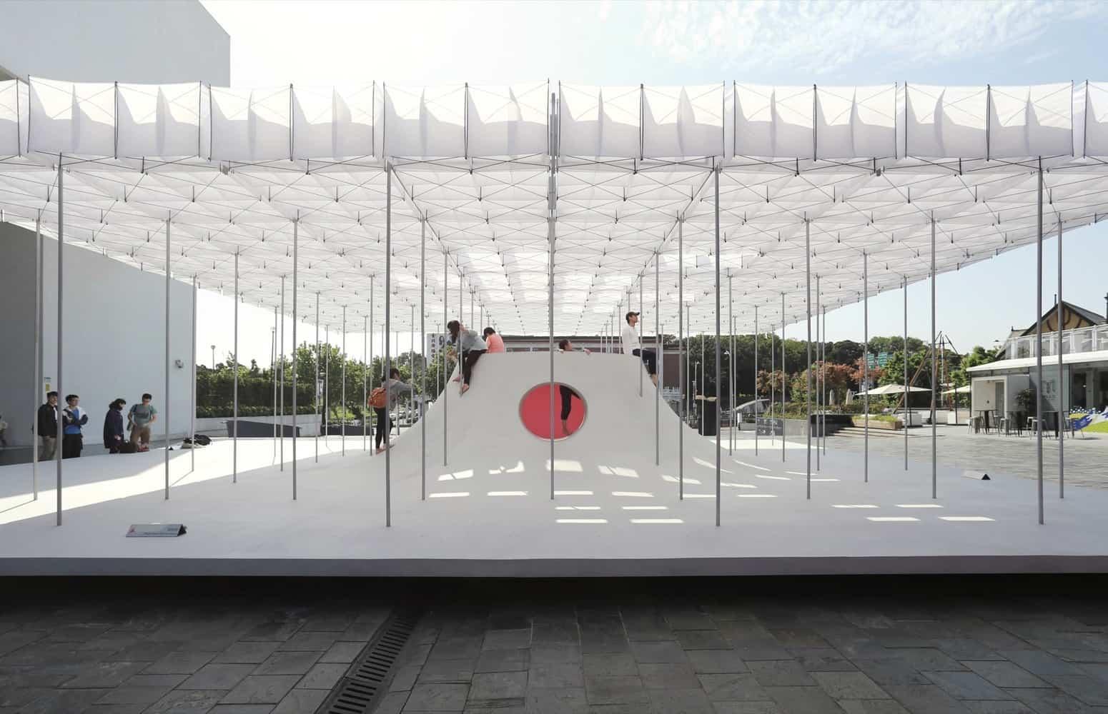 Pavilhão Flutuante / Shen Ting Tseng architects