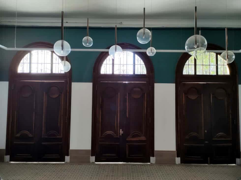 Ambiente interno do prédio projetado pelo engenheiro-arquiteto Ramos de Azevedo