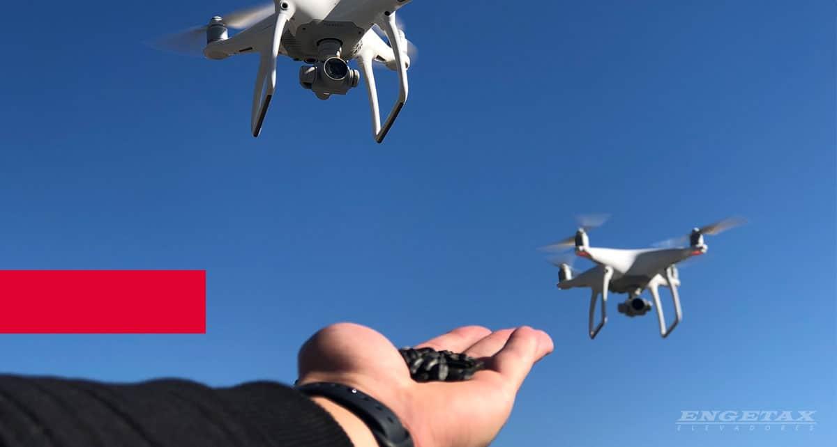 Drones - oportunidades para a arquitetura e a construção civil